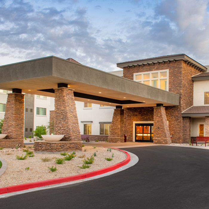 ACOYA Mesa Entrance - Senior Living Community in Arizona