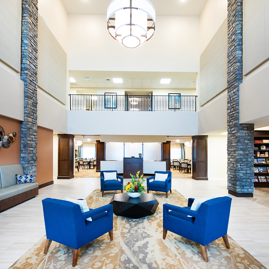 ACOYA Mesa Lobby - Assisted Senior Living in Arizona