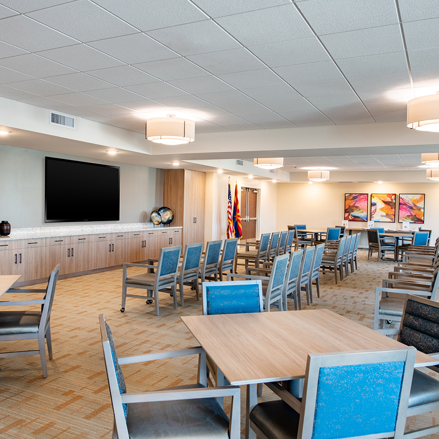 Community Room - ACOYA Mesa - Assisted Senior Living in Arizona