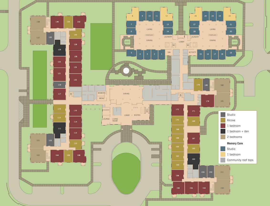 updated site plans first floor